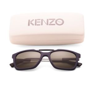 Kenzo made in France blue sunglasses NWT